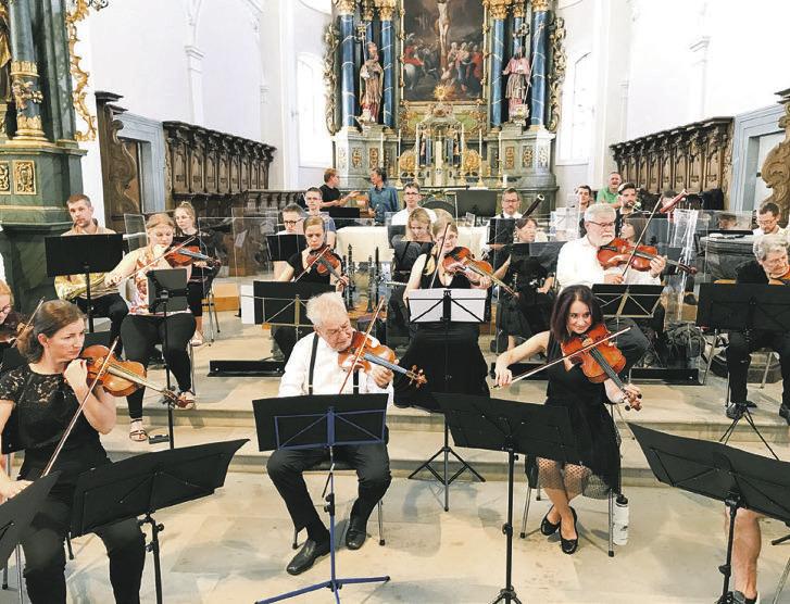 Sinfonieorchester mit Mozart und Shéhérazade