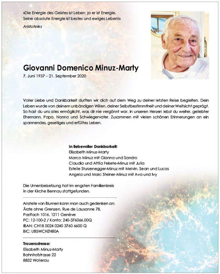 Giovanni Domenico Minuz-Marty