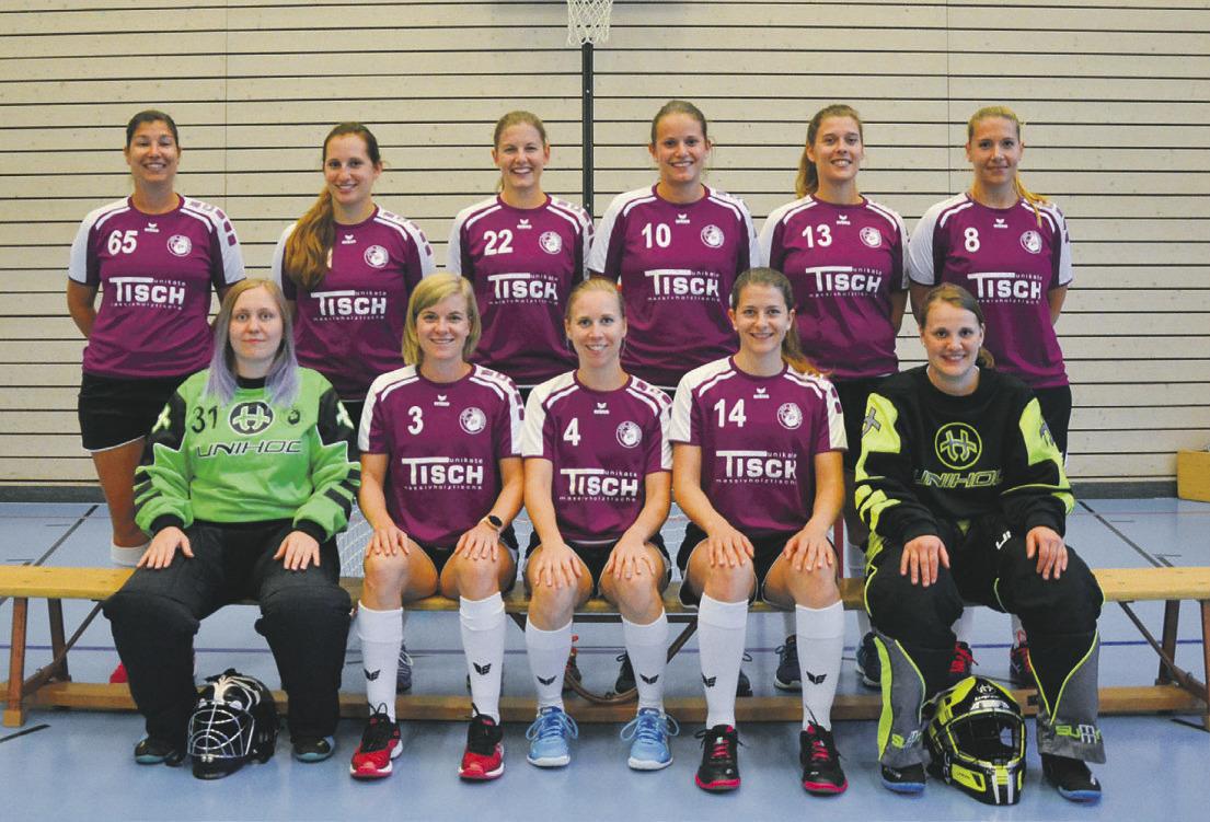 Damen des UHC Einsiedeln  zweimal unentschieden