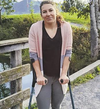 Saisonstart von Wendy Holdener nach ihrer Verletzung ungewiss