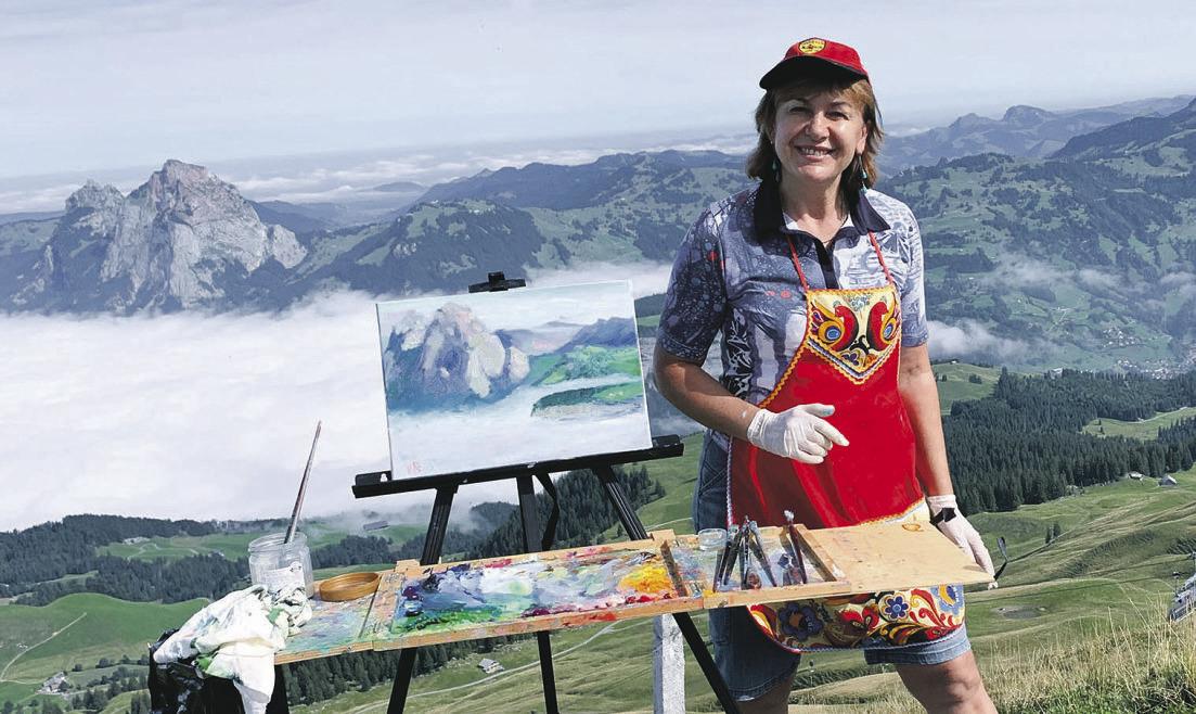 Verliebt in die Schweizer Berge