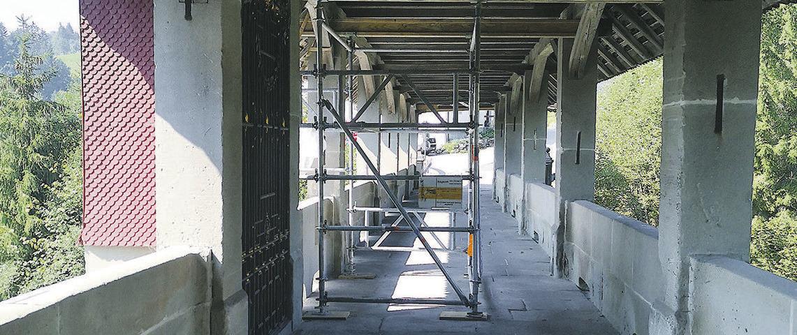 Die «Tüfelsbrugg» wurde restauriert