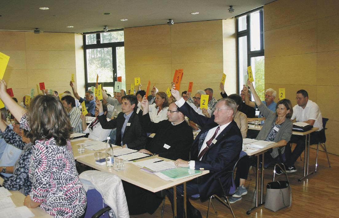 Grünes Licht für die Session des Kirchenparlaments erteilt