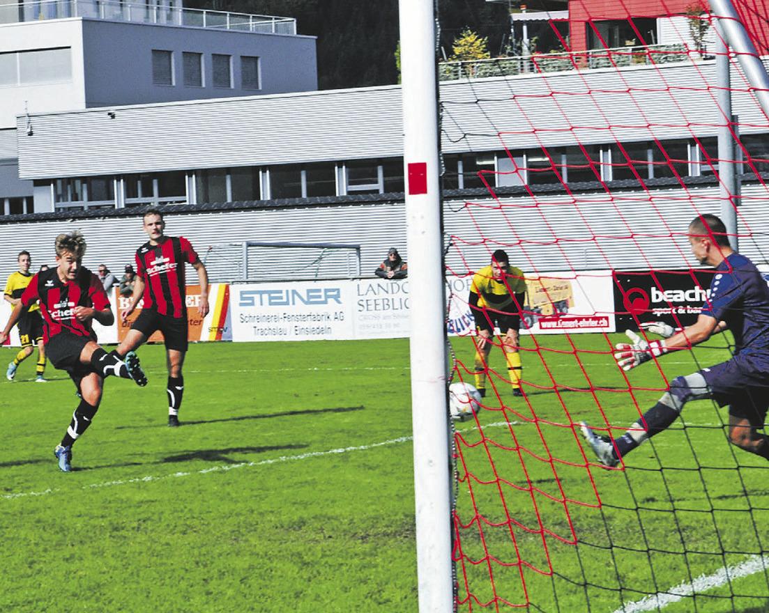 Mangelnde Effizienz kostet  FC Einsiedeln II den Sieg