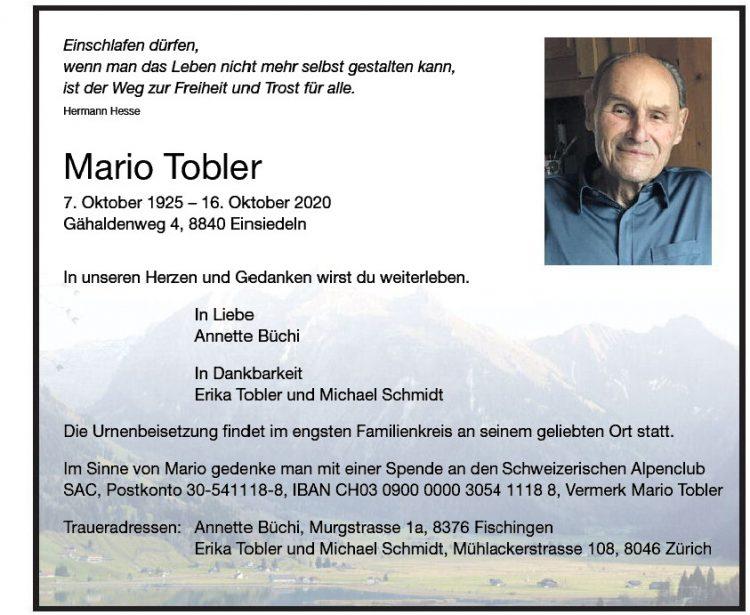 Mario Tobler