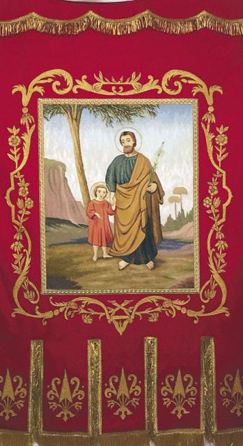 Zwei Firmungen und die  Einweihung der Josefsfahne