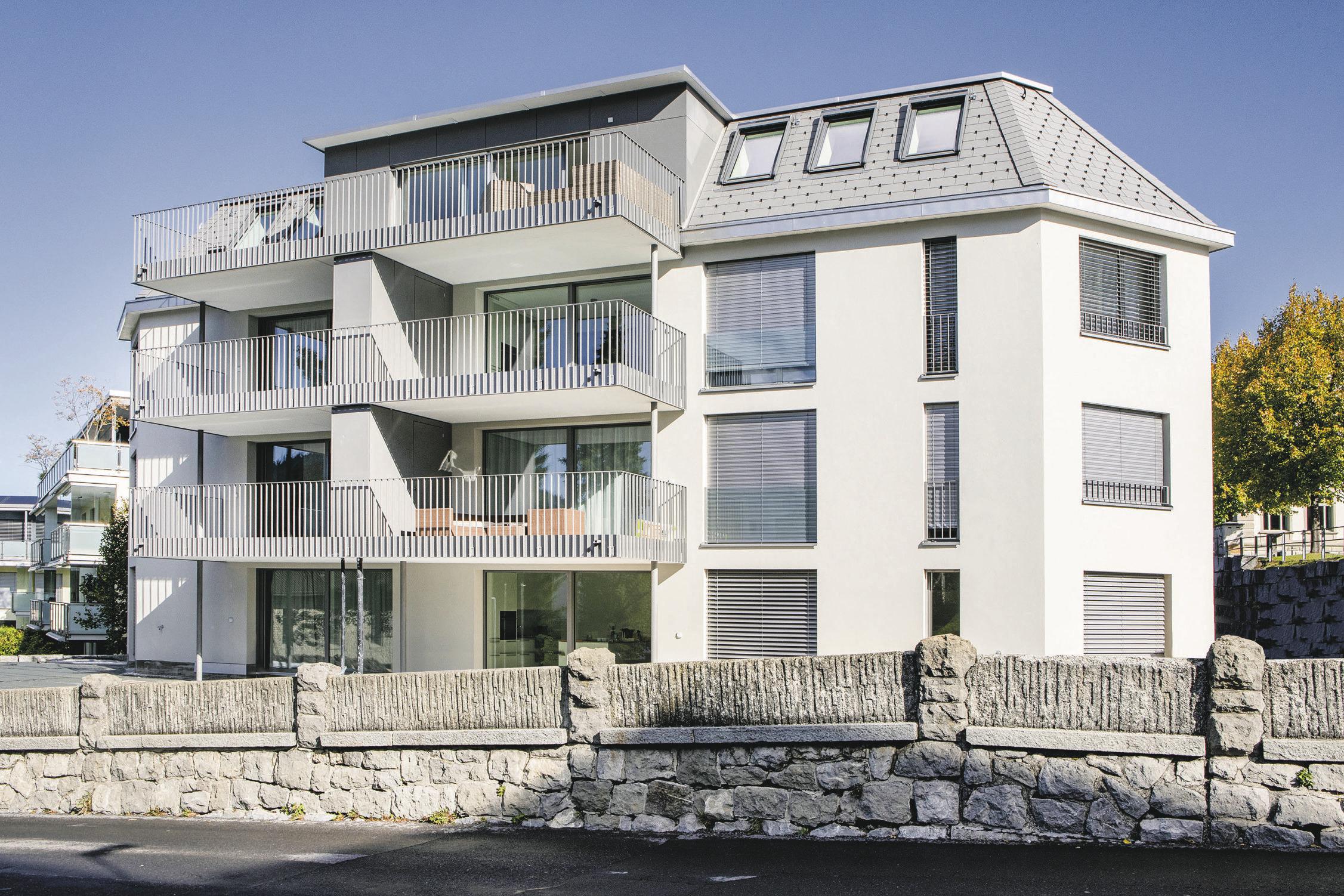 Mehrfamilienhaus Halde, Einsiedeln