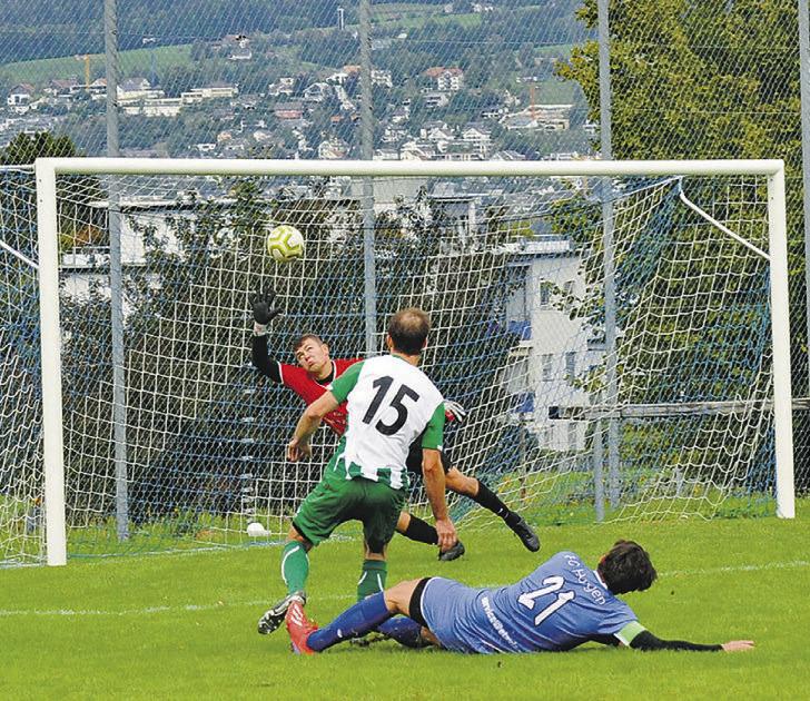 FC Einsiedeln II gewinnt  nach langem Kampf