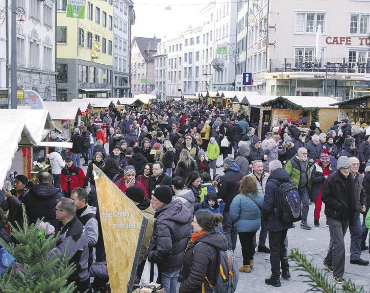 «Weihnachtsmarkt ist möglich, aber nur mit Maskenpflicht»
