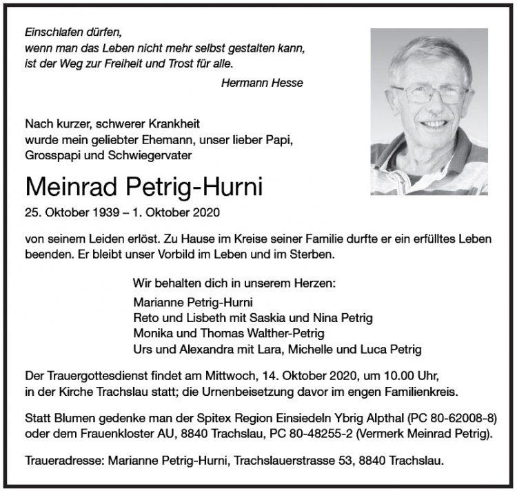 Meinrad Petrig-Hurni