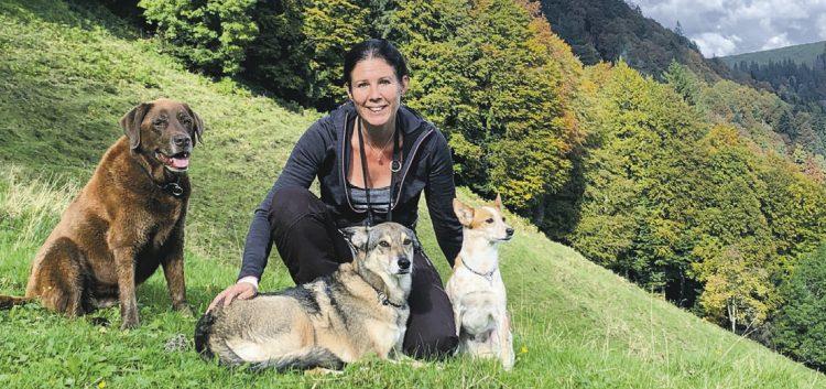 Sie sucht ein Haus für sich  und ihre Hundegäste