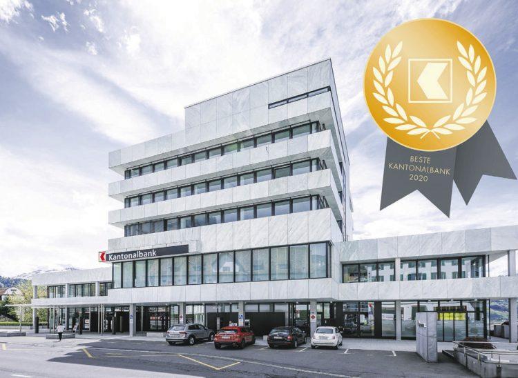 Schwyzer Kantonalbank erreicht vierten Rang