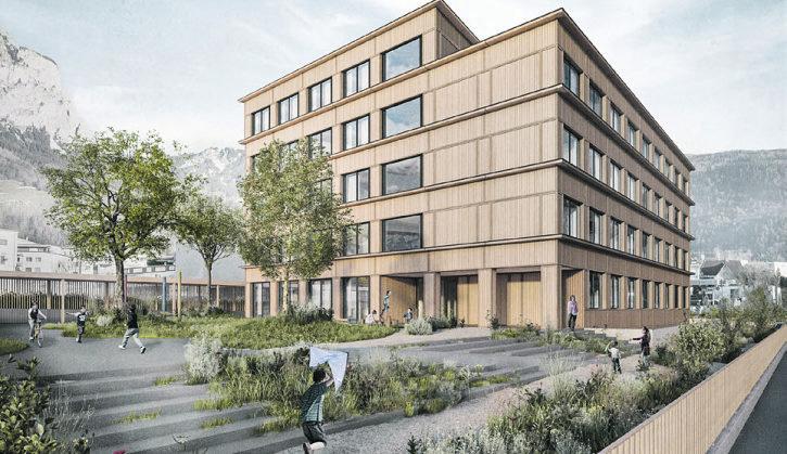 Neubau kann im Schuljahr 2022/23 bezogen werden