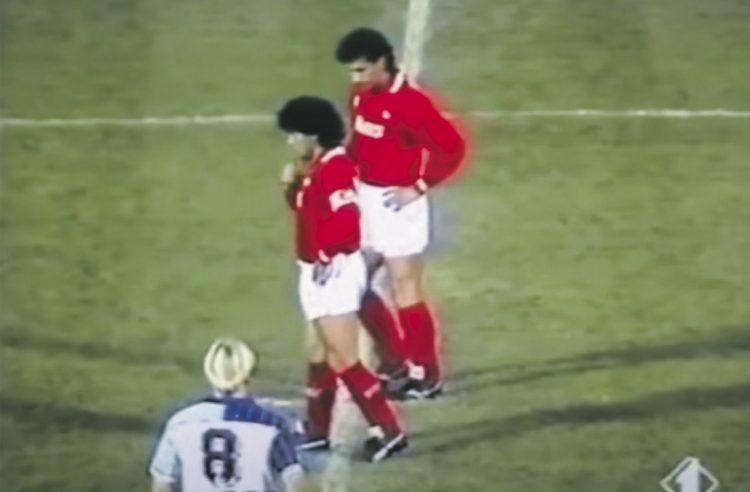 Einsiedler Schiedsrichter hat Maradona live erlebt