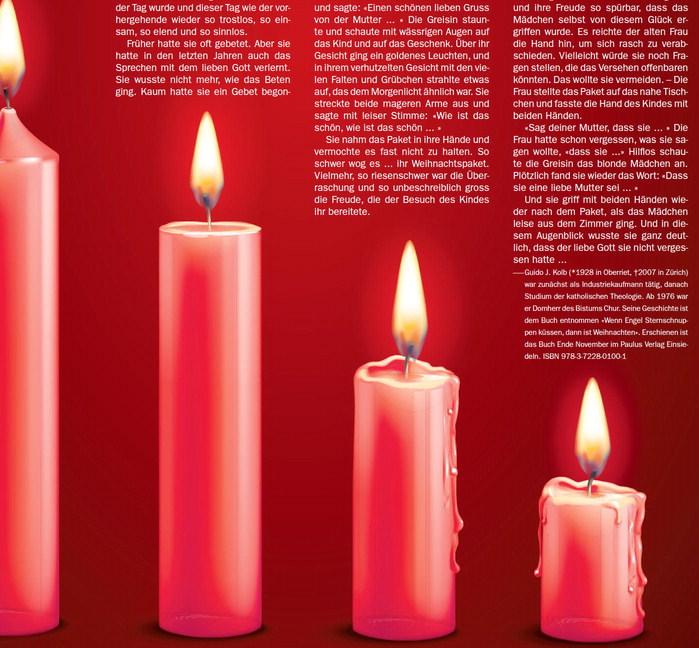 Eine Weihnachtsgeschichte aus dem Buch «Wenn Engel Sternschnuppen küssen, dann ist Weihnachten»