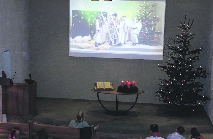 Weihnachtsgottesdienst dank Einfallsreichtum