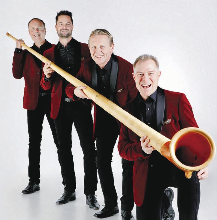 Das Lochus Quartett haucht dem Alphorn neues Leben ein