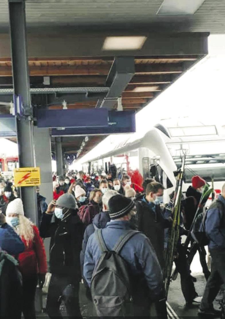 «Die Südostbahn beobachtet  Fahrgastzahlen sehr genau»