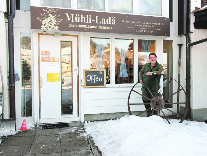 Das Mehl der Grotzenmühle Einsiedeln  ist begehrt – mehr denn je