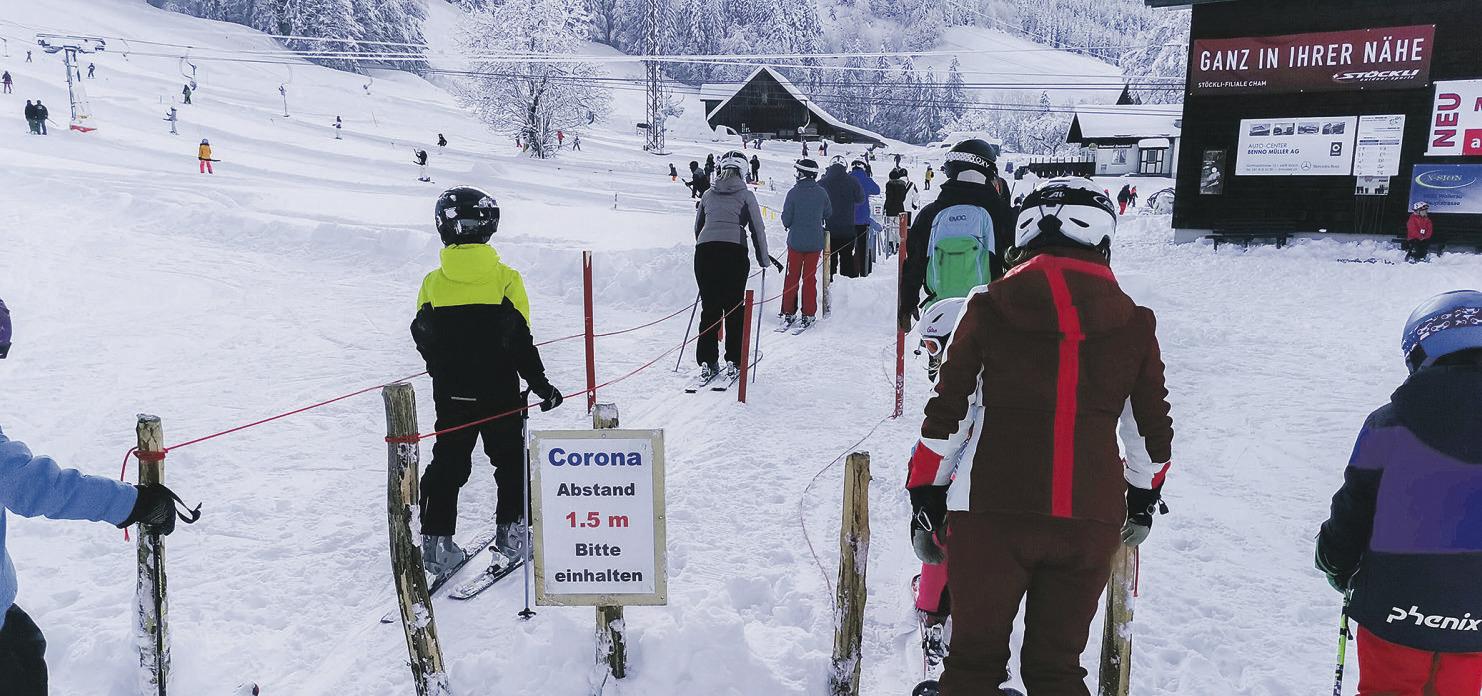 Schliessung der Skigebiete  ist kein Thema