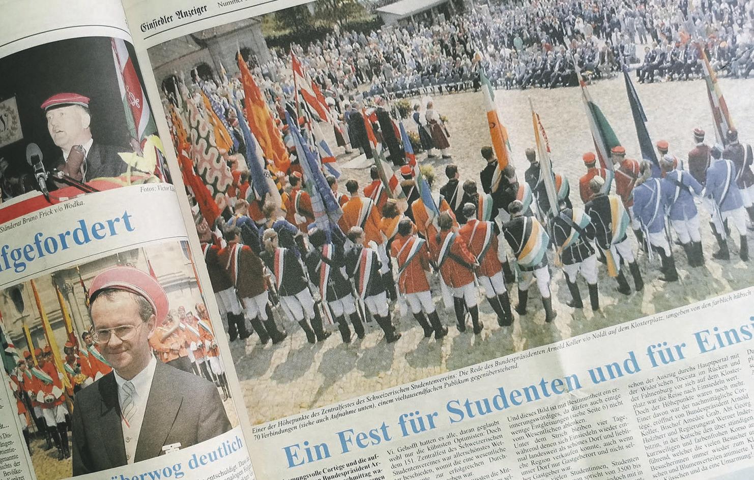Nach 24 Jahren kehrt das Zentralfest  nach Einsiedeln zurück