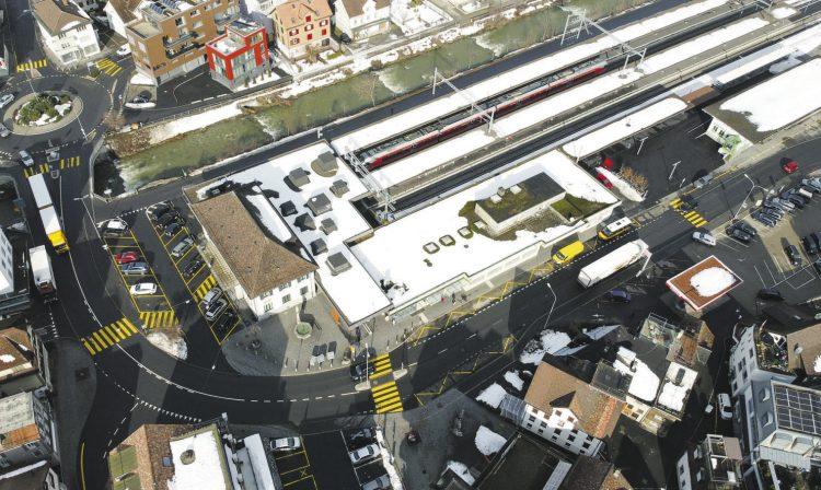 Ende 2021 soll klar sein, wie sich das  Bahnhofareal entwickeln kann