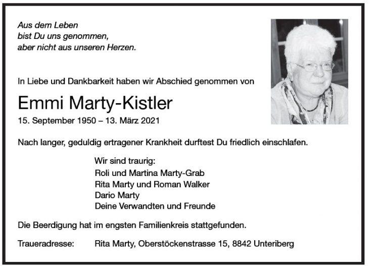 Emmi Marty-Kistler