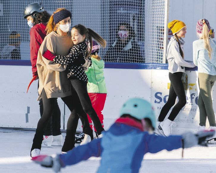 Nun hat der Eispark  geschlossen