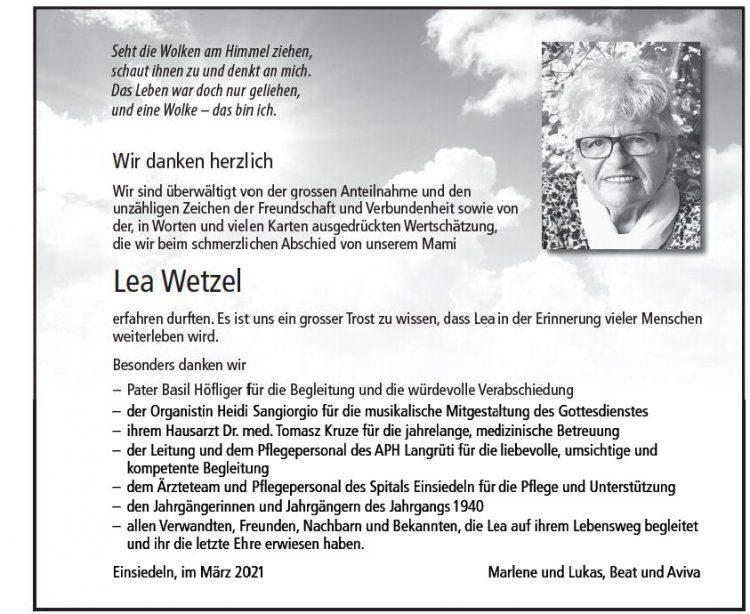 Lea Wetzel