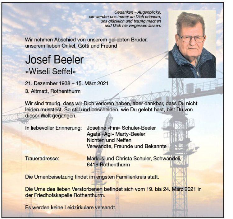 Josef Beeler