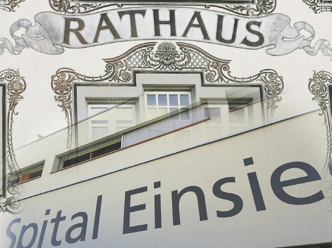 FDP Einsiedeln fordert Bezirksrat auf,  alten «Spital-Zopf» abzuschneiden