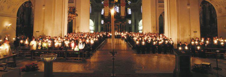 Das österliche Triduum im Kloster Einsiedeln