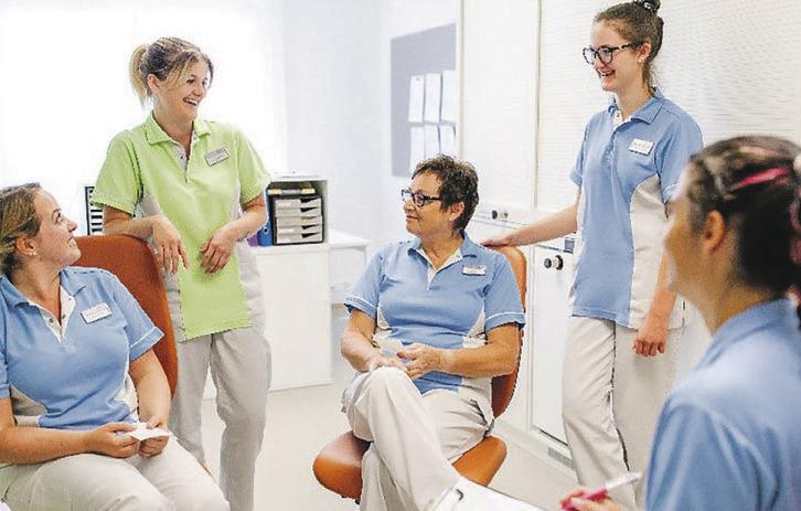 Neu in der Gerbe:  HF-Studium Pflege