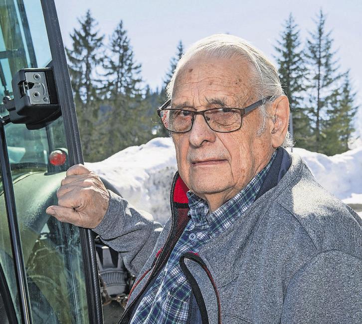 Ein Schneepionier «räumt» nach  60 Jahren seinen Posten