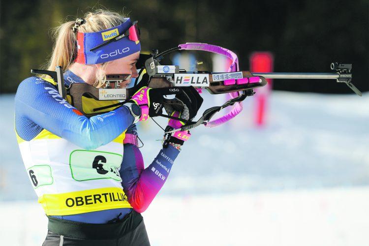 Amy Baserga gewinnt zweite Goldmedaille