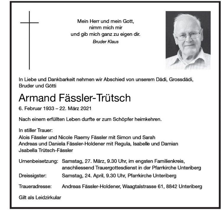 Armand Fässler-Trütsch