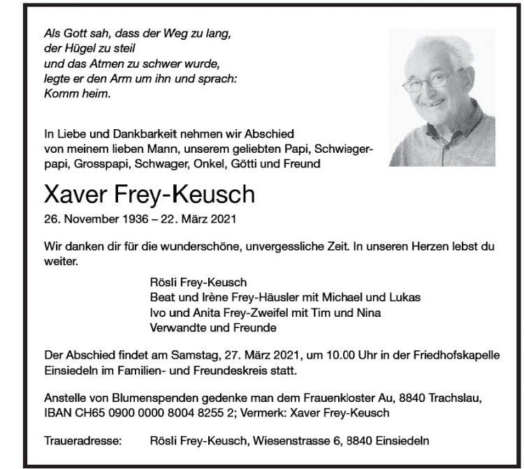 Xaver Frey-Keusch
