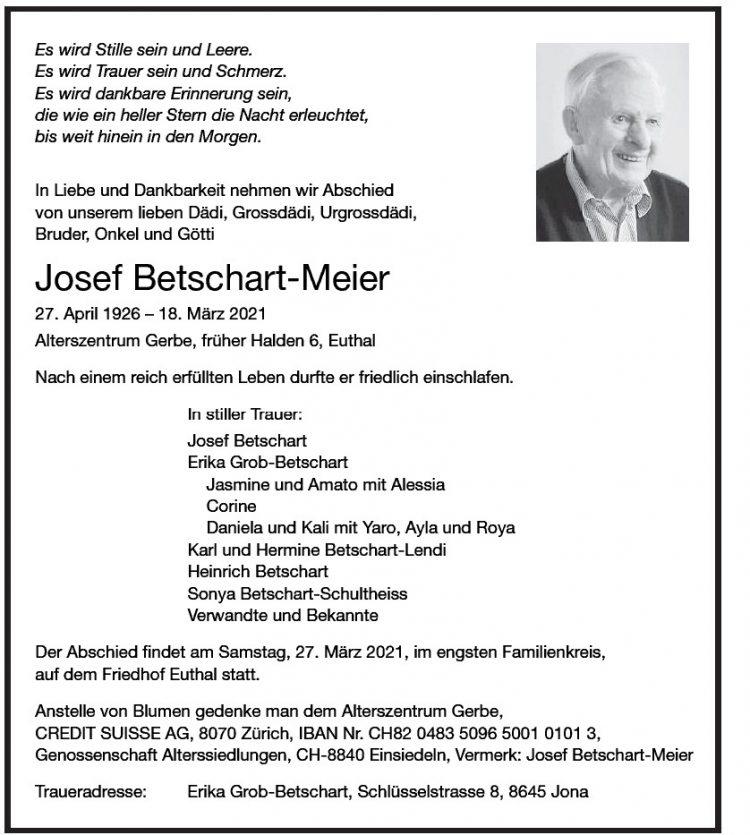 Josef Betschart-Meier
