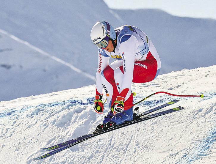 Cedric Ochsner mit  Europacup-Punkten