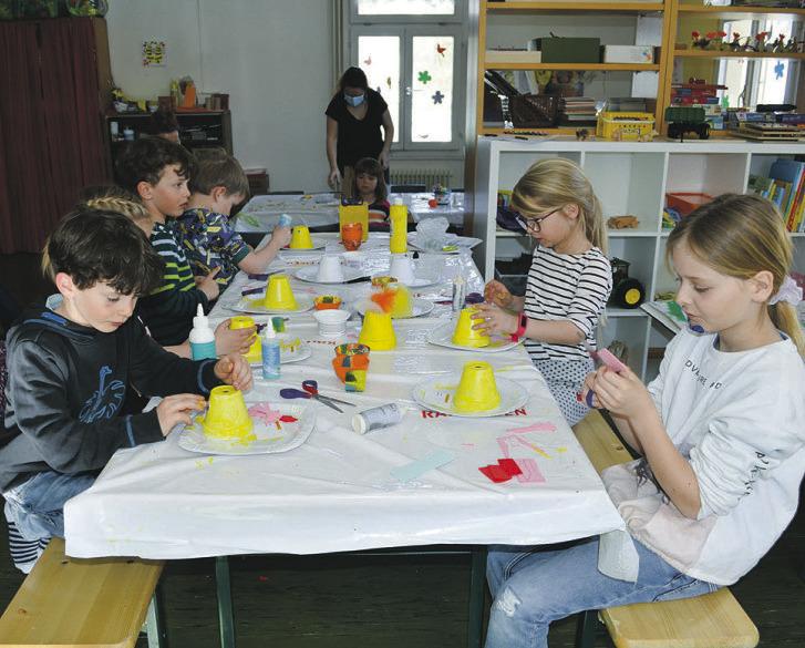 Osterbasteln zaubert Kindern  ein Lächeln ins Gesicht