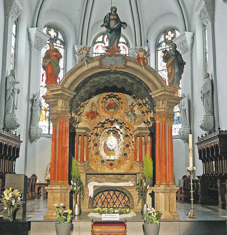 Das Heiliggrab in Rothenthurm kann wieder bewundert werden