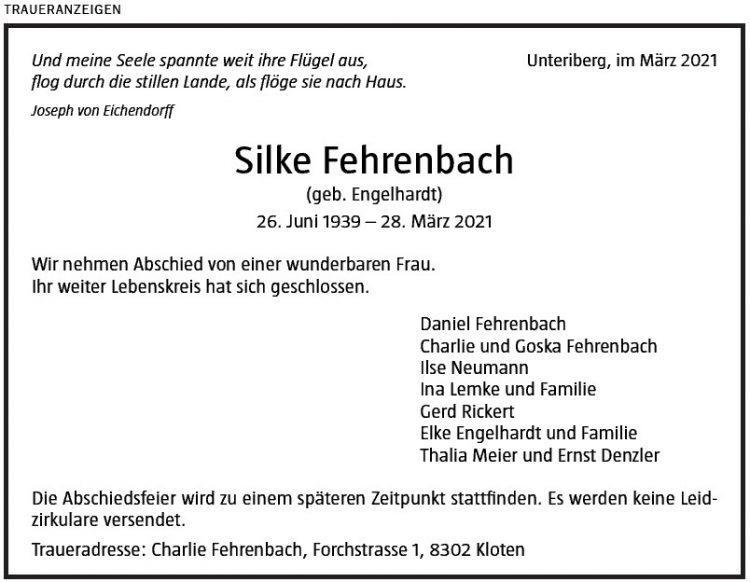 Silke Fehrenbach