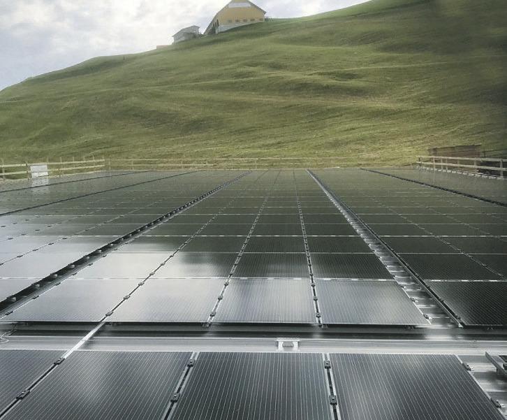 Die beiden Solaranlagen funktionieren einwandfrei