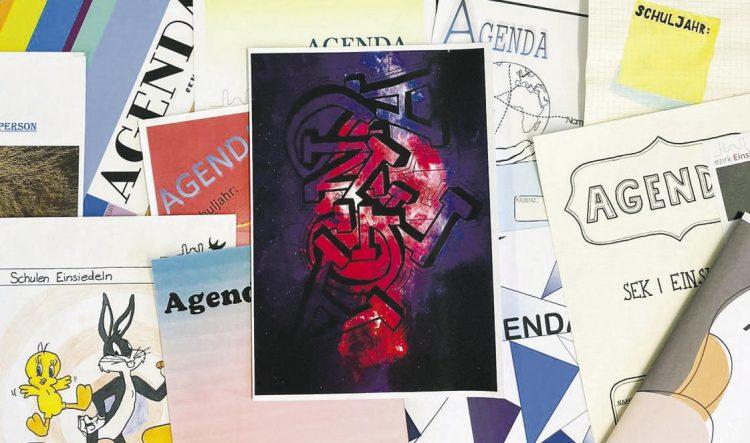 Neues Design für die Agenda  der Sekundarschule