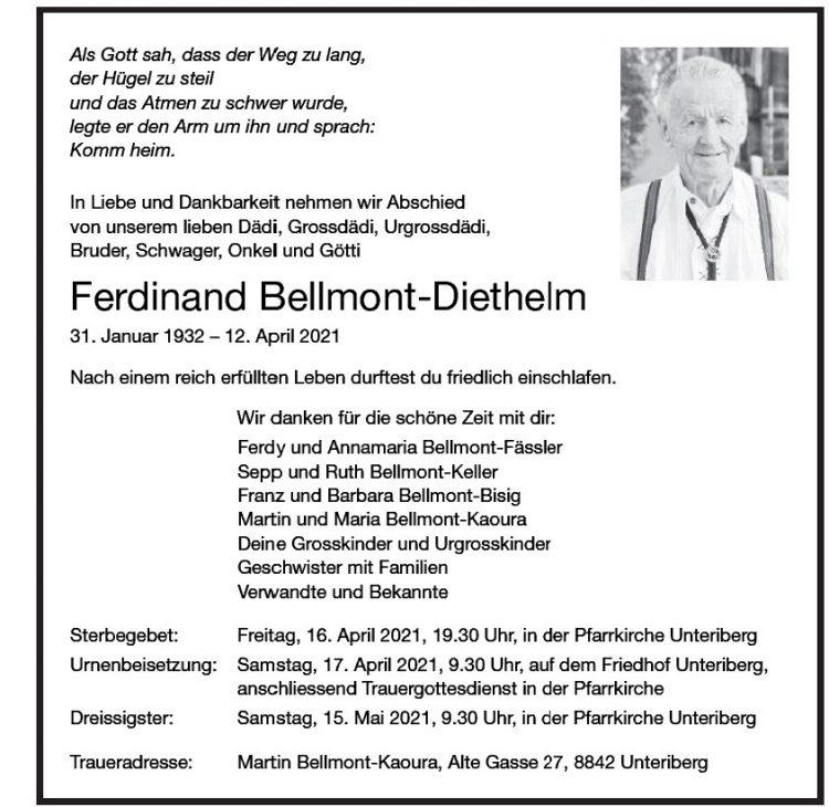 Ferdinand Bellmont-Diethelm