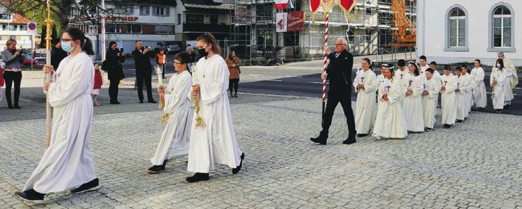 Rothenthurm feierte den Weissen Sonntag