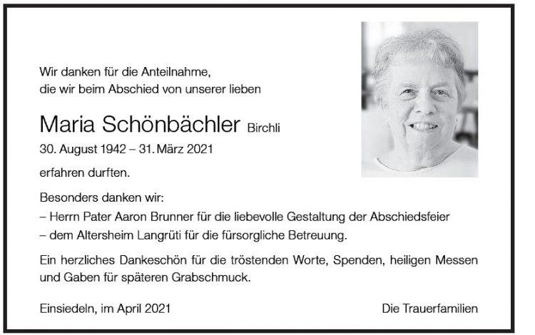 Maria Schönbächler