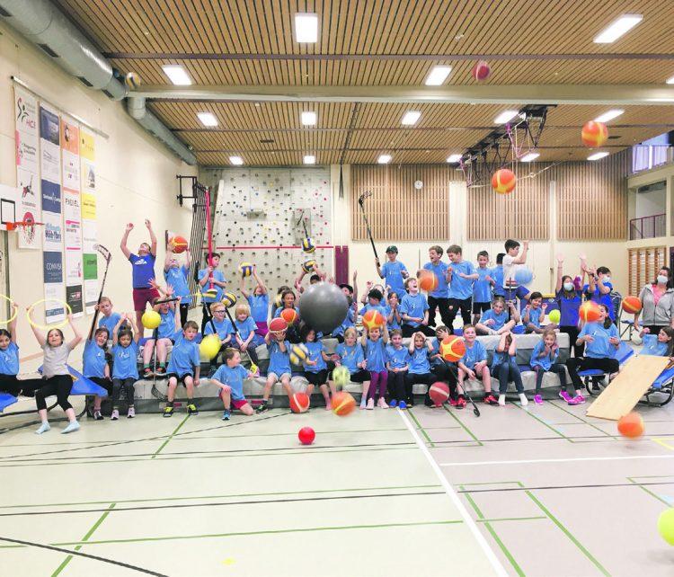 Sportlicher Ferienspass im Polysportcamp Einsiedeln