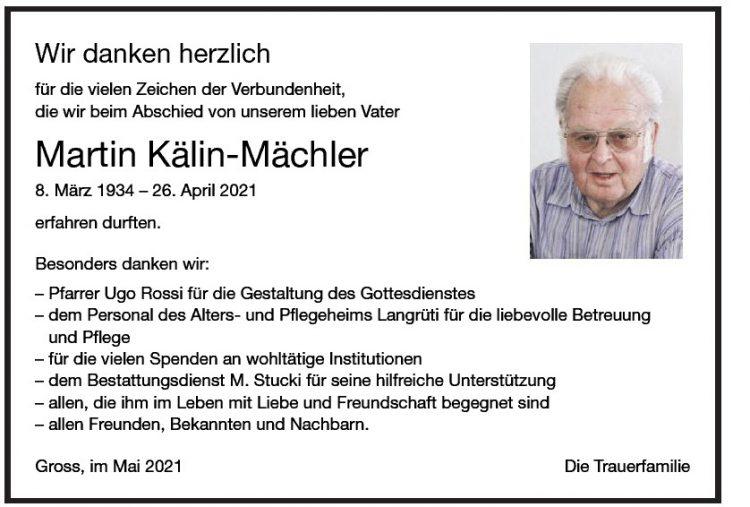 Martin Kälin-Mächler