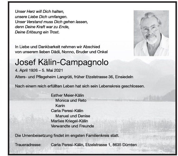 Josef Kälin-Campagnolo